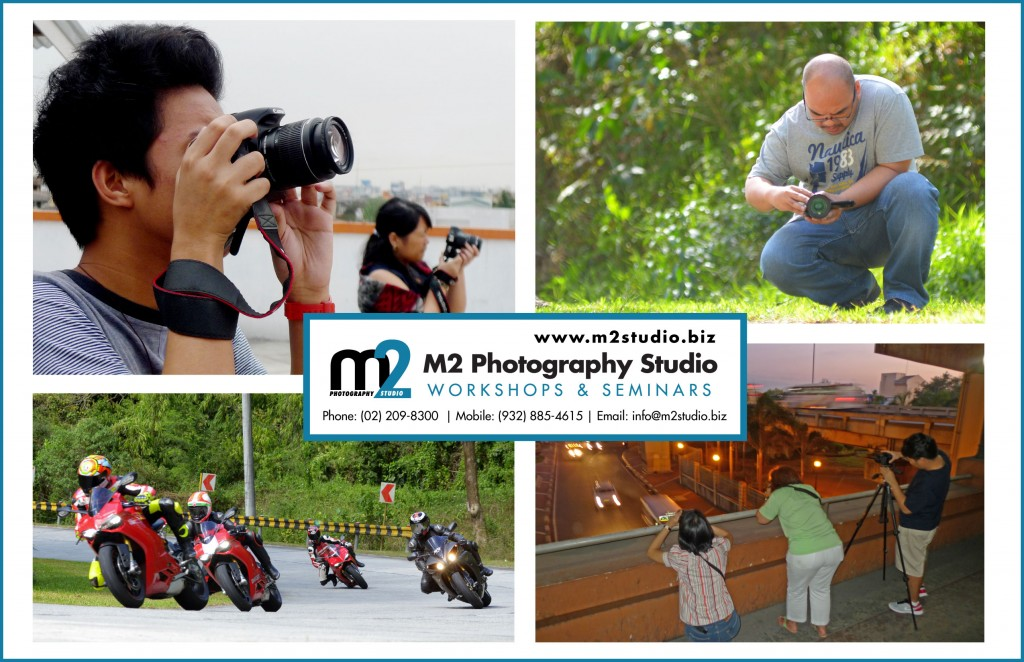 M2 Photography Studio | Workshops