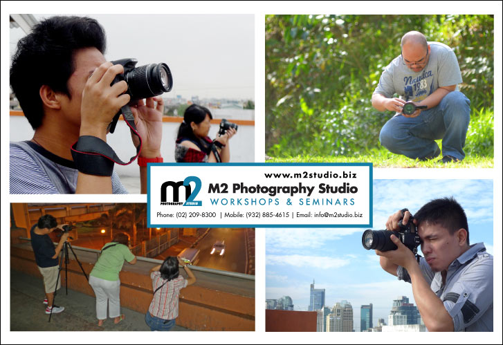 M2 Photography Studio | Workshops