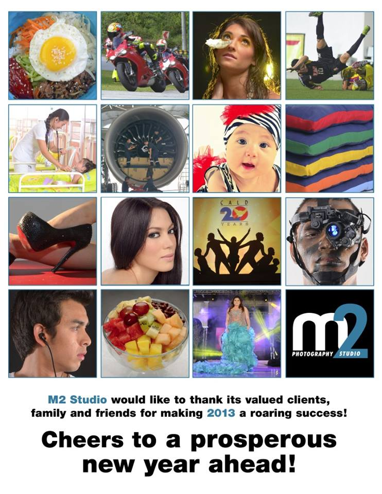 M2 Studio Holiday 2013 Greetings