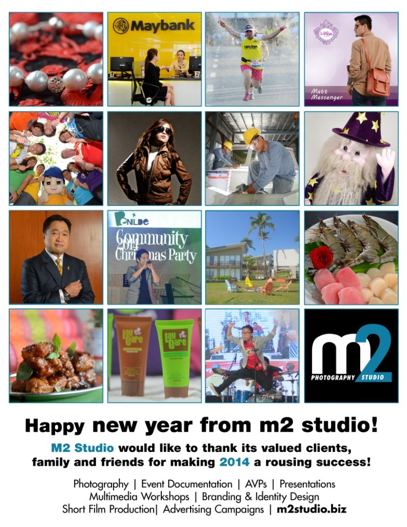 M2 Studio new year greetings 2014