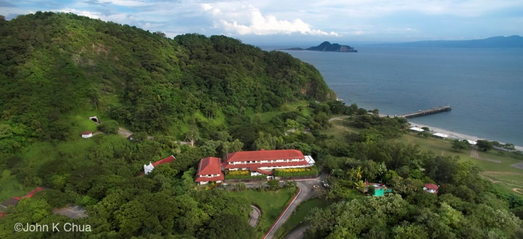 Corregidor Inn Aerial photo by John Chua